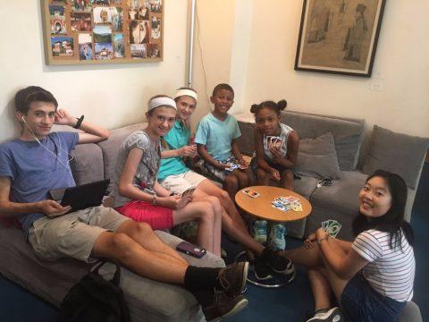 Families leren Chinees in Beijing