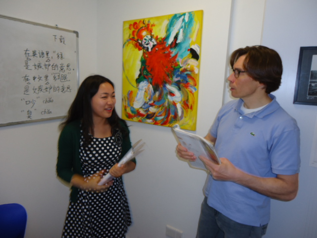 Mandarijn leren in Shanghai