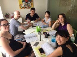 Groepsles Chinees met Sofia