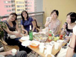 Samen lunchen bij LTL Shanghai
