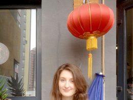 Een korte pauze van de Chinese lessen
