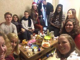 Kerstavond van de studenten