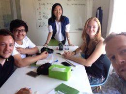 Leer Mandarijn in Beijing - Teacher Lucy en studenten