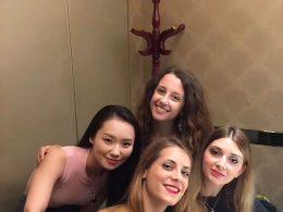 Pekingeend diner voor Marie, Jasmine, Annalisa en Cristina