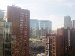 Beijing dakterras uitzicht