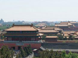 Uitzicht over Beijing