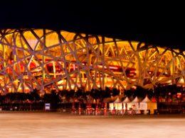 Vogelnest Stadion in Beijing