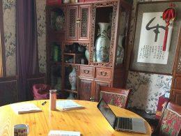 Tijd voor een Chinese les in Chengde