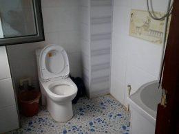 Typische Chengde gastgezin badkamer