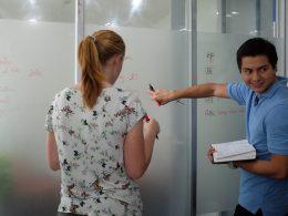 Chinese tekens oefenen