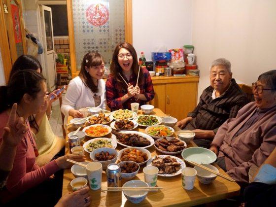 Diner met de hele familie!