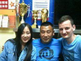 Studenten en medewerkers in Chengde