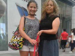Laodice en haar gastmoeder in Chengde