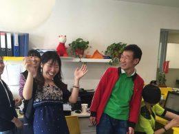 Tijd voor een feestje bij LTL Beijing