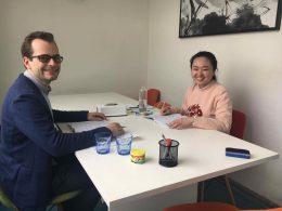 Mandarijn lessen in Shanghai