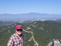 Even uitrusten op de Chinese Muur
