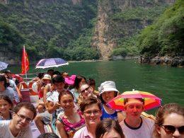 Uitje met de LTL studenten en medewerkers in Chengde