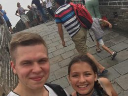 Bezoek aan de Chinese Muur
