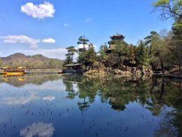 Prachtig landschap in Chengde