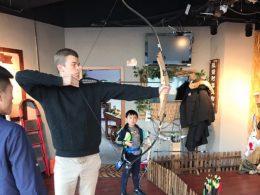 Boogschieten in Chengde