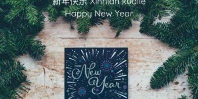 Gelukkig Nieuwjaar in het Chinees