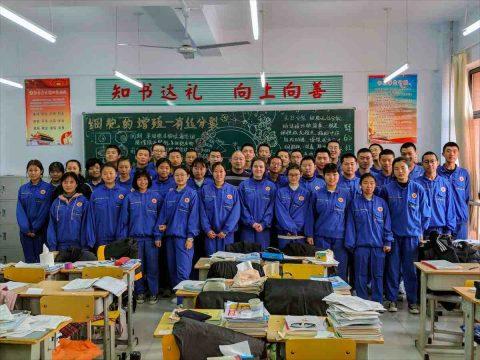 Klassenfoto Beijing Southwest High School