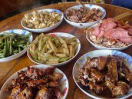 Gastgezin Maaltijd in Chengde