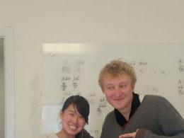 Student Charles studeert Chinees in Beijing