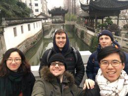Dagtripje voor Team Shanghai
