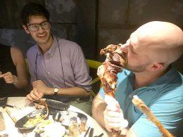Genieten van heerlijk eten in Shanghai