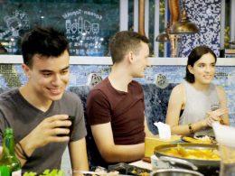 Etenstijd in Shanghai
