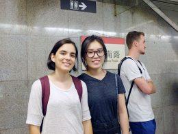 Met de Metro in Shanghai