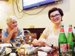 Woensdagavond diner in Shanghai