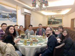 Woensdagavond diner bij LTL Shanghai