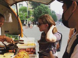 Ontbijt kopen in Beijing
