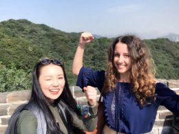 Marie en Jasmine veroveren de Chinese Muur