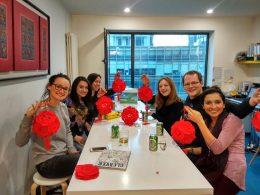LTL Beijing studenten nemen een pauze van het Chinees studeren