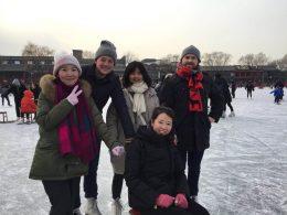 Dagje schaatsen bij HouHai