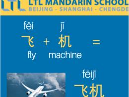 Vliegtuig - Chinees Leren met LTL