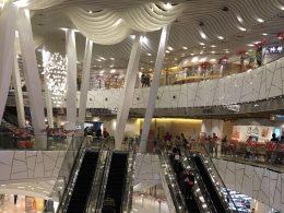 Winkelcentra in Shanghai zijn behoorlijk groot