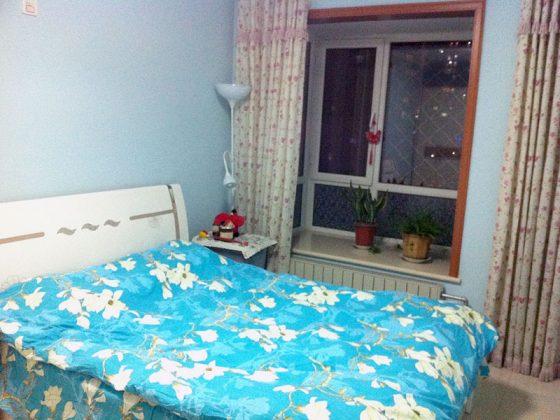 Slaapkamer bij een Gastgezin in Shanghai