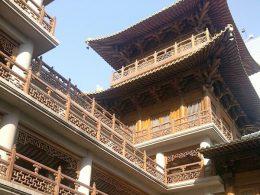 Een zonnige dag in Shanghai