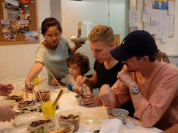 Samen eten bij LTL Shanghai