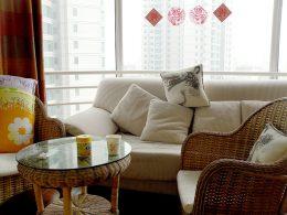 Woonkamer in ons Beijing Appartement