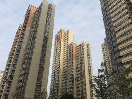Shanghai gedeeld appartementen complex