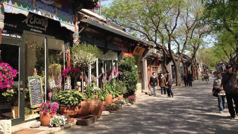 Bezoek Beijing Hutong