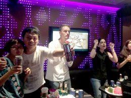 KTV tijd voor onze Shanghai studenten