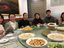 Heerlijk eten in Shanghai