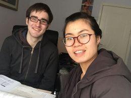 Tina met LTL student